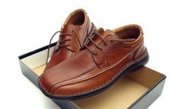 Nuevos zapatos Imágenes de archivo libres de regalías