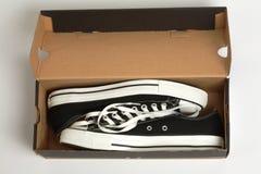 Nuevos zapatos Foto de archivo libre de regalías