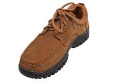 Nuevos zapatos de seguridad Fotografía de archivo libre de regalías