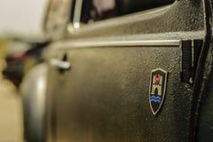 NUEZ TURBO DEL NEUMÁTICO DE LA RUEDA DE VW Imagen de archivo libre de regalías