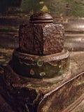 Nuez y perno aherrumbrados Imagen de archivo