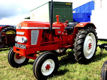 Nuffield 4/65 Diesel tractor. The Nuffield 4/65 diesel tractor on show at the Moorgreen country show, Watnall, Nottinghamshire, England, UK, 2012 Royalty Free Stock Images