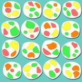 Nugat-Süßigkeits-Illustration Stockfoto