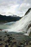 Nugget Falls, Mendenhall Glacier, Juneau, Alaska Royalty Free Stock Photography