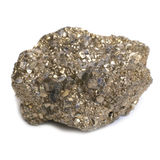 Nugget on fool's gold Royalty Free Stock Photo