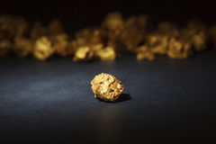 Nugget gold Royalty Free Stock Photography