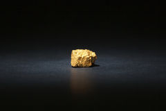 Nugget gold Royalty Free Stock Photo