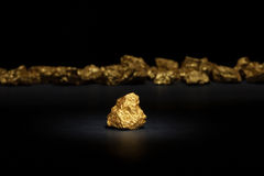 Nugget gold Royalty Free Stock Photos