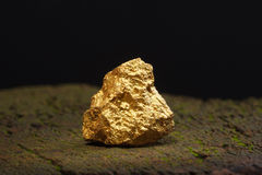 Nugget gold Stock Images
