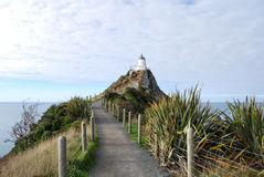 Nugget Point Lighthouse Stock Photography