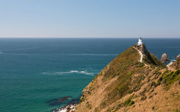 Nugget Point Lighthouse Stock Image
