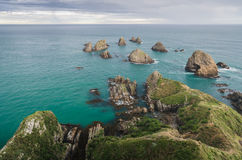 Nugget point, new zealand Stock Photo