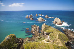 Nugget Point New Zealand. Nugget Point in the Catlins New Zealand royalty free stock image