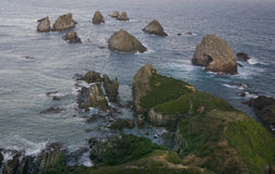 Nugget Point, New Zealand Royalty Free Stock Photography