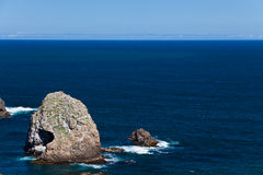 Nugget Point Rocks - New Zealand Royalty Free Stock Image