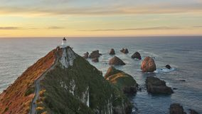 Nugget points New Zealand Royalty Free Stock Photo