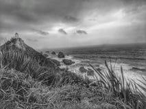 Nugget-Punkt-Leuchtturm stockfoto