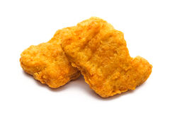 Nugget. An  nugget on white background Royalty Free Stock Photography