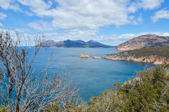 The Nuggets from Cape Tourville. Cape Tourville of Freycinet National Park Tasmania Royalty Free Stock Image