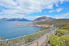 The Nuggets from Cape Tourville. Cape Tourville of Freycinet National Park Tasmania Stock Photo