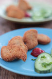 Nuggets. Royalty Free Stock Photo