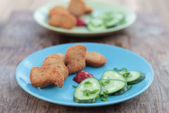 Nuggets. Stock Image