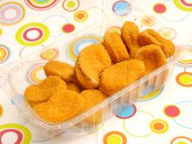 Nuggets of chicken Royalty Free Stock Photography