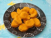 Nuggets of chicken Royalty Free Stock Images