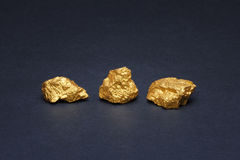 Nuggets gold Royalty Free Stock Photography