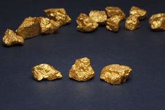 Nuggets gold Royalty Free Stock Image
