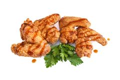 Nuggets from wings Stock Image