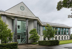 NUI Martin Ryan Building in Galway, Irland stockbilder