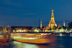 Nuit à Bangkok Photos stock