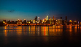 Nuit à Chongqing Images stock