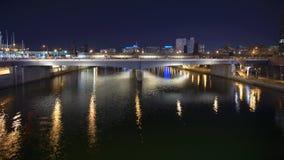 Nuit à Philadelphie Photos stock