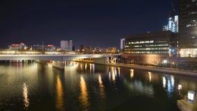 Nuit à Philadelphie Image stock