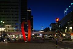 Nuit à Stockholm photo libre de droits