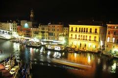 Nuit à Venise Photos stock