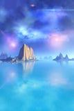 nuit étoilée Images stock
