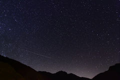 Nuit étonnante d'étoile Photographie stock libre de droits