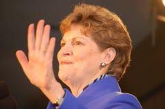 Nuit 08 d'élection de Jeanne Shaheen Photos stock