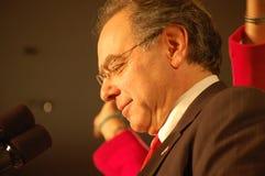 Nuit 08 d'élection de Paul Hodes Photos stock