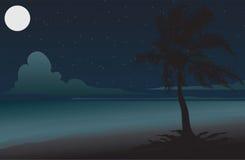 Nuit illustration de vecteur