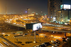 Nuit au Caire Photo libre de droits