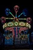 Nuit au parc d'amusement Photos libres de droits