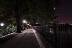 Nuit au réservoir Images stock