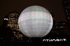 Nuit Blanche в Торонто, Канаде Стоковые Изображения