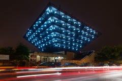 Nuit blanche - festival d'art contemporain à Bratislava, Slovaquie, Image stock