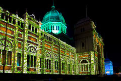 Nuit blanche Melbourne 2015 Image stock