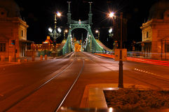 Nuit Budapest Photos stock